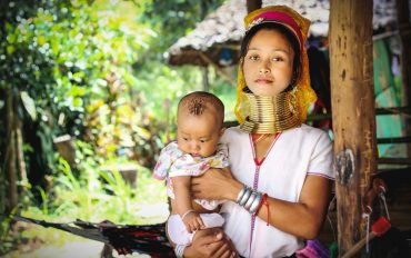hilltribe village Chiang Mai Thailand