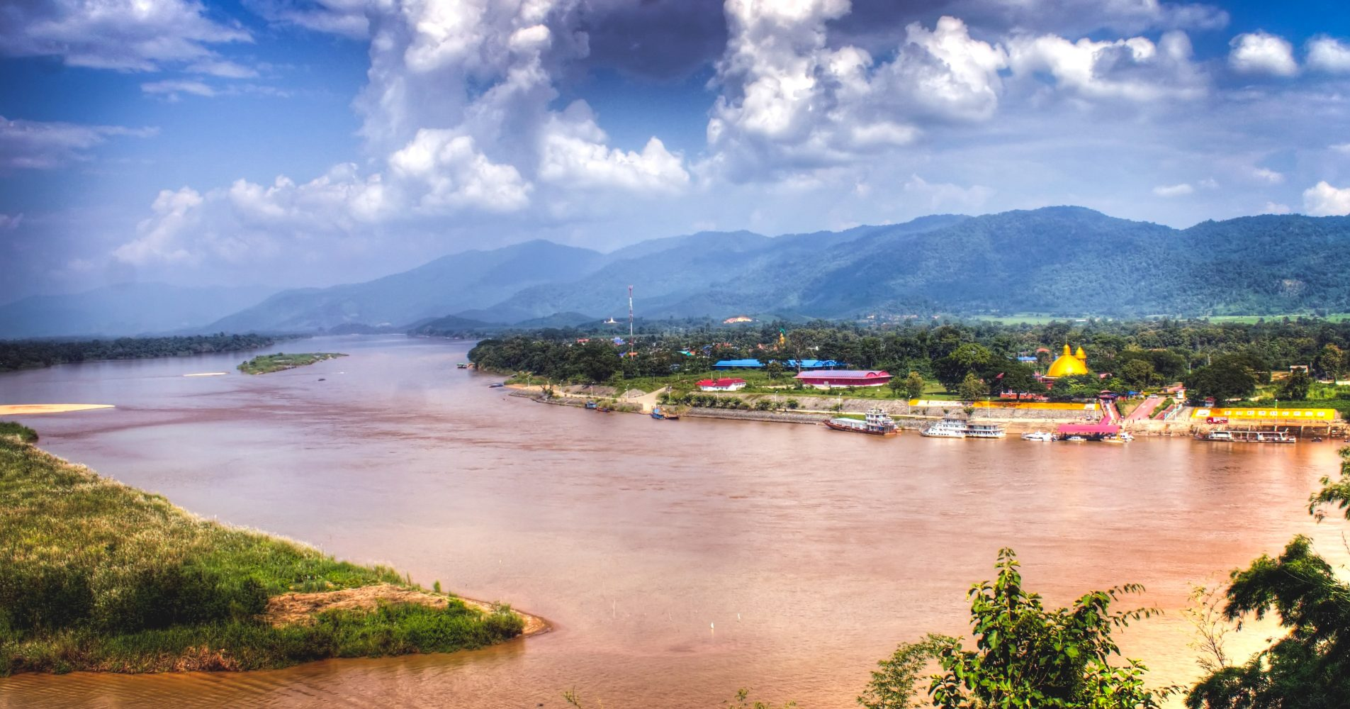 Golden Triangle - Thailand - Myanmar - Laos