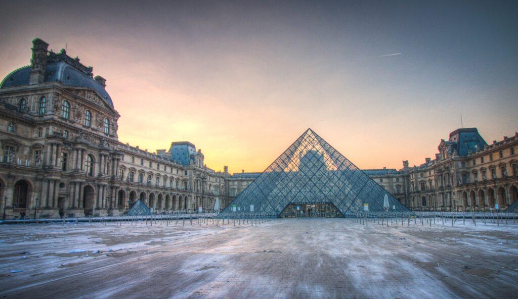 The Louvre at Sunrise by Paul de Burger